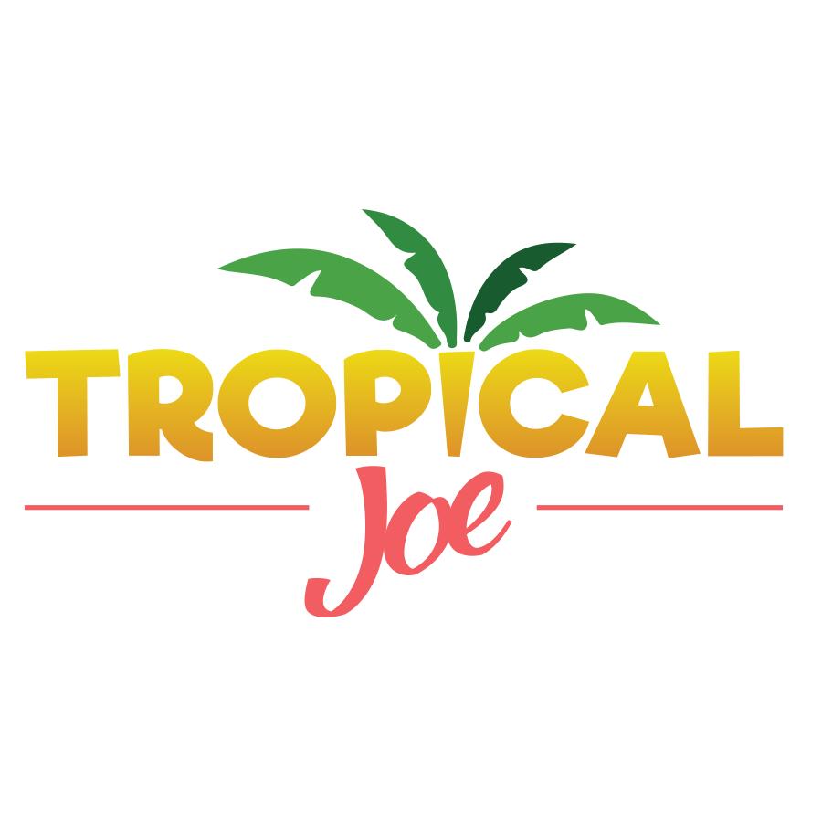עיצוב לוגו טרופיקל ג'ו