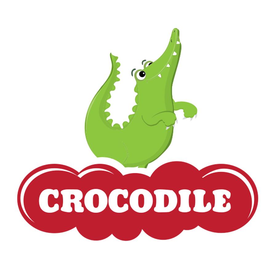 עיצוב לוגו קרוקודיל